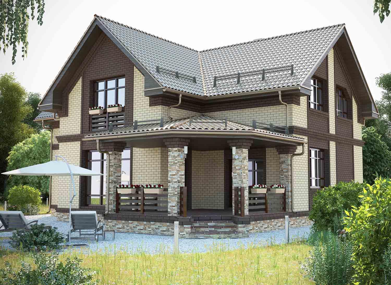 всего проекты полутораэтажных домов из кирпича фото возможно, что