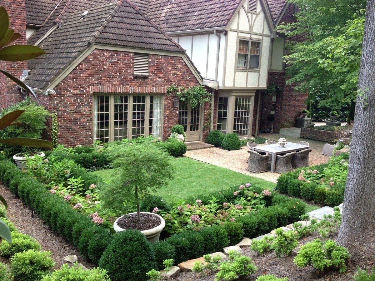 Картинки ландшафтного дизайна для загородных домов